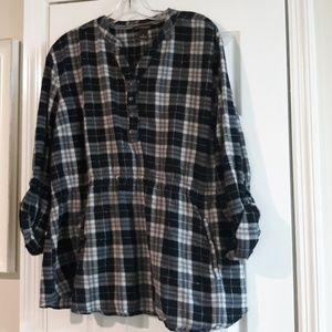 Bit & bridle 2x flannel tunic